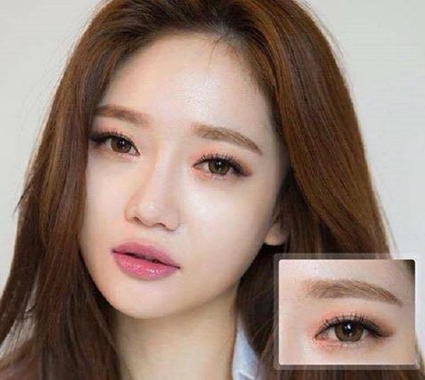 Những điều cần chú ý khi phun thêu lông mày kiểu Hàn Quốc