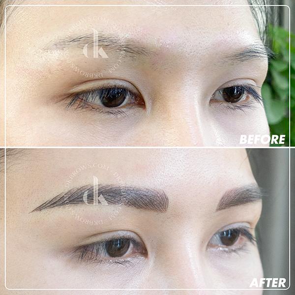 Cùng DK Eyebrows & Beauty giảm đến 40% dịch vụ về lông mày