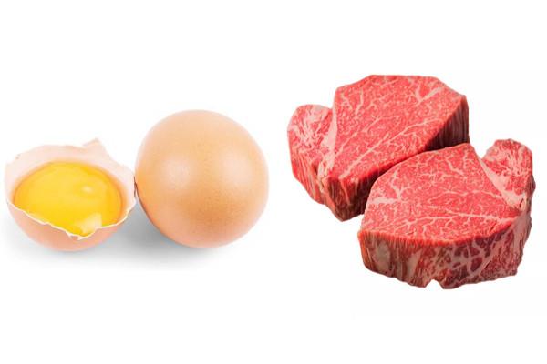 Xăm môi kiêng trứng & thịt bò